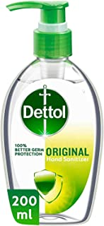 Dettol Original Anti-Bacterial Hand Sanitizer 200ml