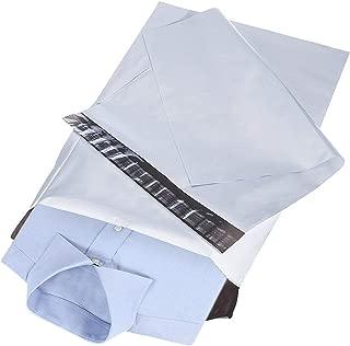 RUSPEPA White Poly Mailer Envelopes - Shipping Bag with Self Seal Adhesive Strip - 10x13 Inch - 100Pcs