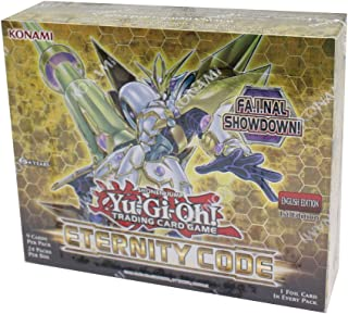Yugioh TCG Eternity Code 1st Edition Booster Box - 24 Packs