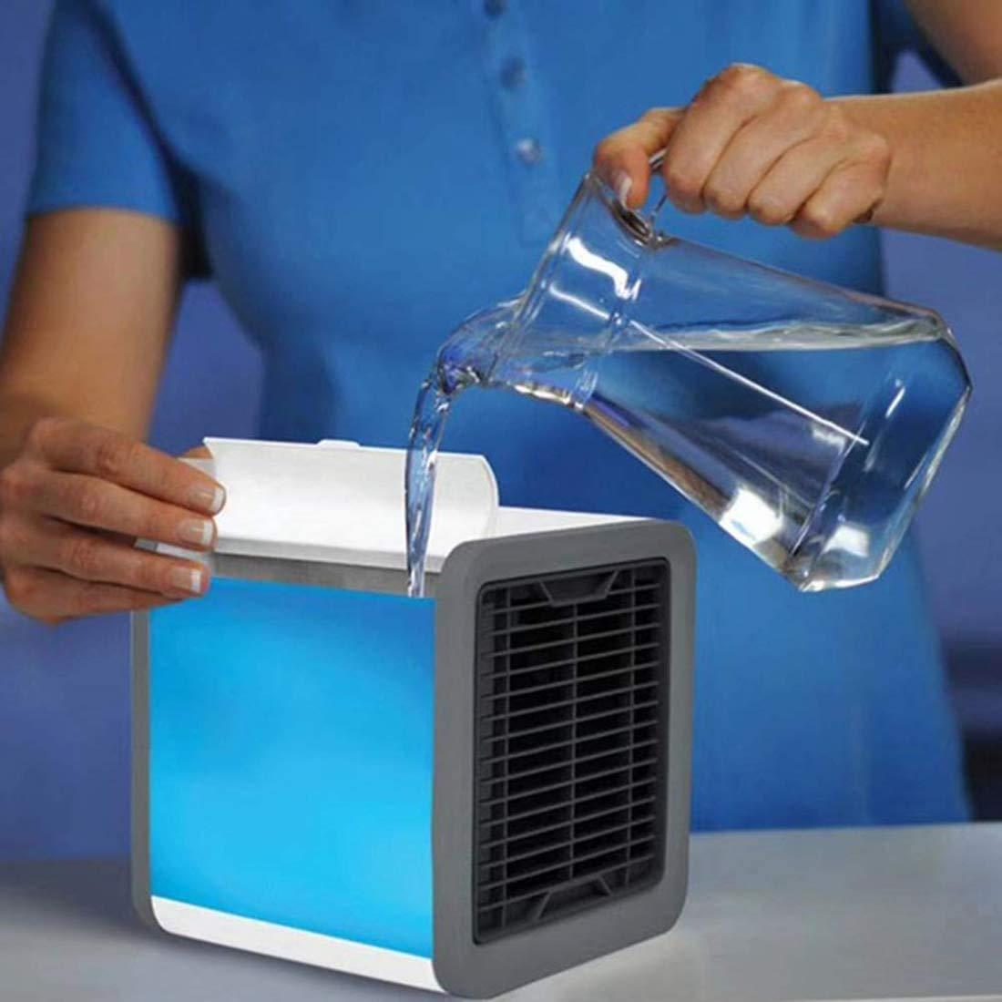 Gutsbox Air Mini Cooler Aire Acondicionado Portátil, Enfriador USB ...