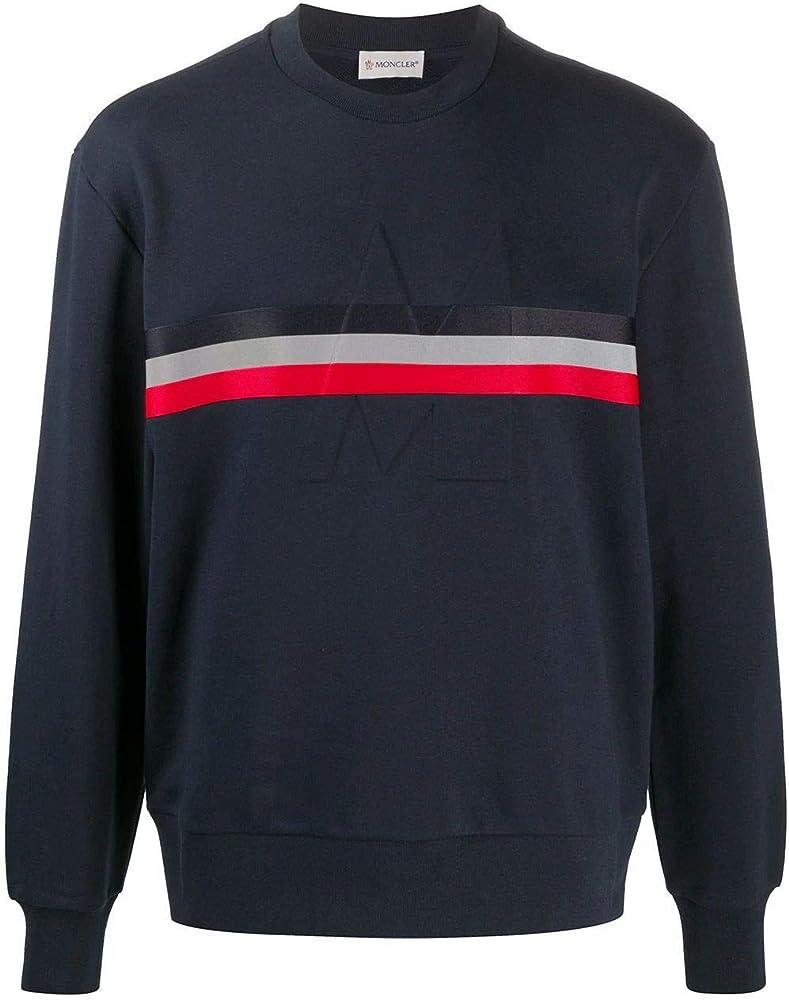 Moncler luxury fashion uomo felpa | autunno-inverno 20 in cotone 100% 8G7472080985778