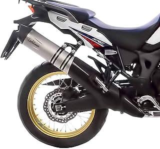 Alextry Universal Motorrad Auspuff Schalld/ämpfer Schutz Hitzebest/ändig Orange