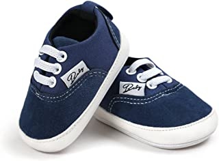 CoKate Baby Boys Girls Non-Slip Sneaker First Walkers Shoes Toddler Canvas Shoes