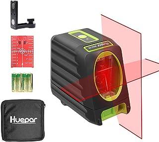 Huepar Self-Leveling Laser Level 150ft/45m Outdoor Cross Line Laser, Selectable Laser..
