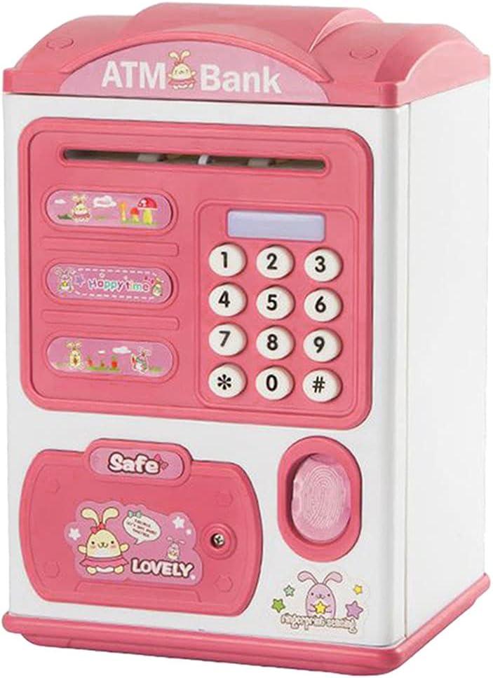 Colcolo Electric High order Fingerprint Piggy Bank for ATM Kid Max 47% OFF Machine Mini