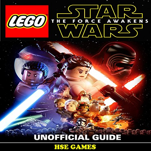 Lego Star Wars the Force Awakens Unofficial Guide audiobook cover art