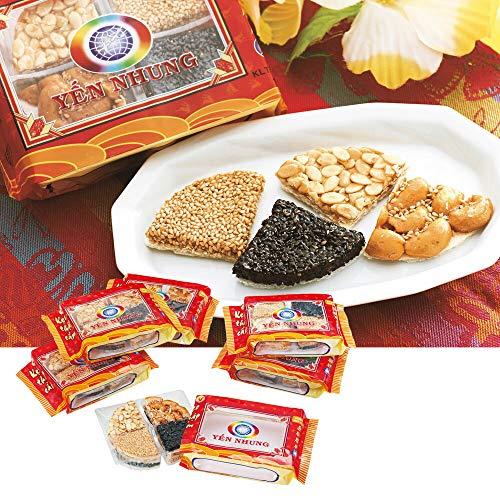 ベトナム ナッツウエハースミニ 6袋セット 【賞味期限】3月11日【ベトナム おみやげ(お土産) 輸入食品 スナック】