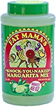 Fat Mama's Knock-You-Naked Margarita Mix, 10 Ounce, Lime, 4 Pack