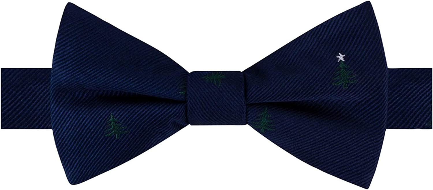 Tommy Hilfiger Mens Tree Self-Tied Bow Tie