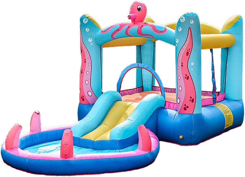en venta en línea XGYUII Kids Kids Kids Bouncy Castle Indoor Small Octopus Trampoline Slide Paraíso de los Niños Juguete Trampoline Home (200  380  180CM)  Envío rápido y el mejor servicio