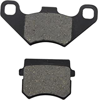 GOOFIT Rear Disc Brake Pad for 50cc 70cc 90cc 110cc 125cc ATV Go Kart Quad Bikes Dune Buggy 4 Wheeler