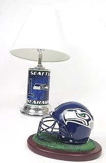 Seahawks Seattle, Home Table lamp Elegant Football Helmet Replica Helmet, Home Decor Set.
