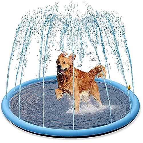 HBDY Tapis de jeu gonflable pour enfants ou chiens - 170 cm