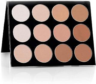 Mehron Makeup Foundation Celebre Pro-HD Pressed Powder, Contour & Highlight Palette 12 Shades