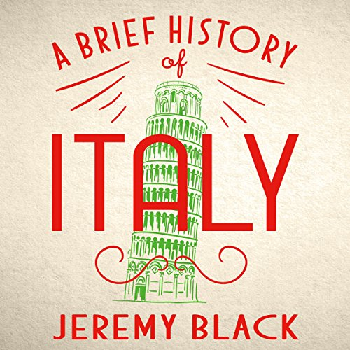A Brief History of Italy audiobook cover art
