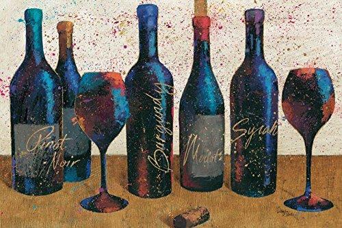 AFDRUKKEN-op-GEROLDE-CANVAS-Wijnplons-Light-I-WellingtonStudio-Keuken-Afbeelding-gedruckt-op-canvas-100%-katoen-Opgerolde-canvas-print-Kunstdruk-op-gerold-Afmeting-60_X_92_cm