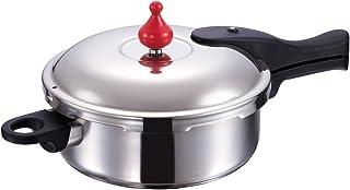 アサヒ軽金属 日本製 圧力鍋 3.0L ゼロ活力なべ M (5.5合炊き) [レシピ付き] IH対応 ガス対応 食洗器対応