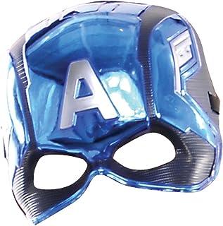 Avengers Avengers-39217 Mascara Capitan America Inf, Multicolor, Talla única (Rubie'S 39217NS)