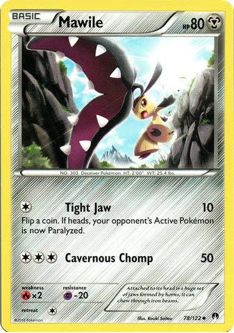 Lapras 28//122 Pokemon XY Breakpoint Reverse Holo