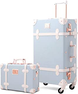 XF Luggage Sets Trolley Universal Wheel Suitcase Suitcase Men and Women Trailer Box Four Sizes Optional Luggage /& Travel Gear Color : A, Size : 332449 cm