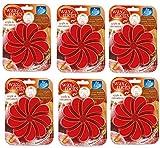 JMS we create smile Pack de 6 sartenes Aroma, Cera derretida Manzana y canamón para quemadores de Aceite, Fragancia para el hogar, 85 g Cada uno