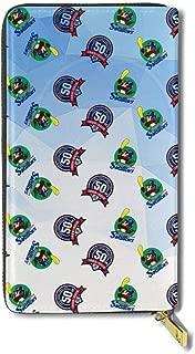 東京ヤクルトスワローズ 財布 長財布 本革 小銭入れ 12枚のカード収納 カードケース コインケース 多機能 大容量 メンズ レディース