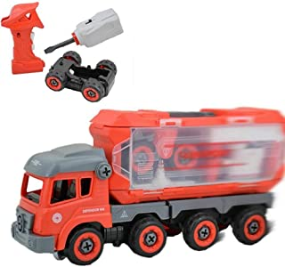 Gooidea Rescue Fire Truck RC Vehicle STEM Educational Toys for Boys & Girls