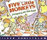 Five Little Monkeys Jumping on the Bed Book & Cassette (Houghton Mifflin Book & Cassette Favorites)