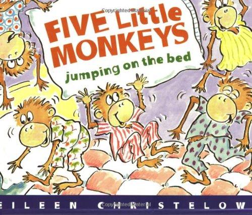 Five Little Monkeys Jumping on the Bed Book & Cassette (Houghton Mifflin Book & Cassette Favorites)の詳細を見る
