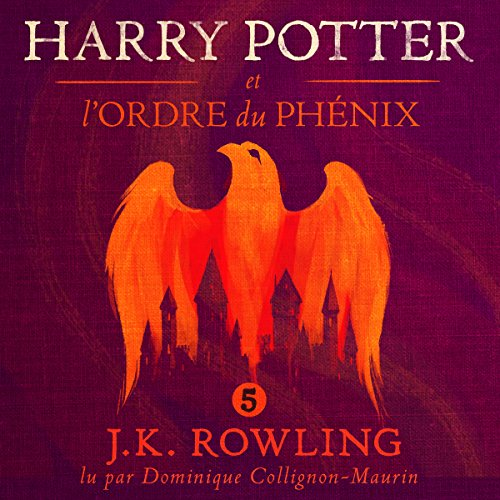 Harry Potter et l'Ordre du Phénix (Harry Potter 5) audiobook cover art