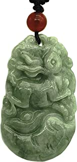Feng Shui Hand Carved Chinese 12 Zodiac Necklace Pendant (Including Logo Gift Pouch)