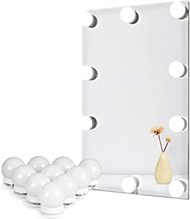 Vanity verlichting voor DIY Hollywood spiegel, make-up lichten voor kaptafel, LED Strip verlichting kit met touch sensor d...