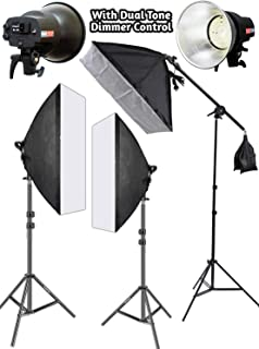 OCTOVA Simpex SL-30 Professional Softbox 3 Point Lighting Kit | 3 Point Lighting Video for YouTube Videos Shooting,Videography,Product Photography, Continuous Studio Lights, Key Fill and Back Light