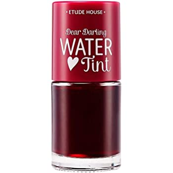 ETUDE HOUSE Dear Darling Water Tint Cherry Ade | Bright Vivid Color Lip Tint with Moisturizing Pomegranate & Grapefruit Extract to Hydrate your Lips