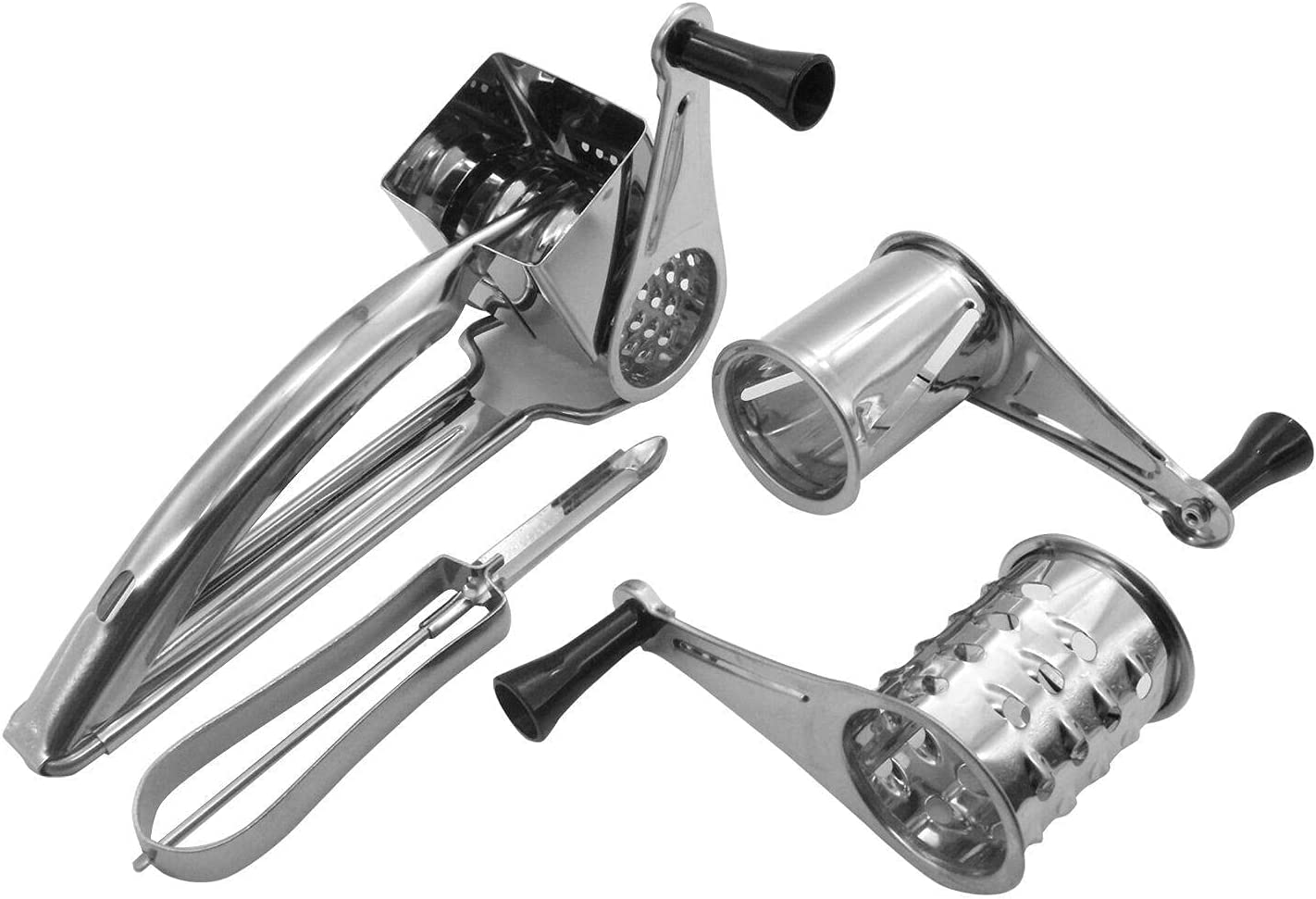 Stainless El Paso Mall Steel Rotary Cheese Grater Shipping included Vegetable Peele Slice Shred