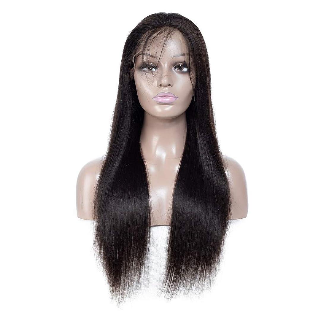 ノイズヒロイン最近ZXF 本物の人間の髪の毛のかつらアフリカの黒と白のアメリカ人の本当の人間の髪の毛は、長い髪のフルハンド織りで染色することができます 美しい (Size : 12