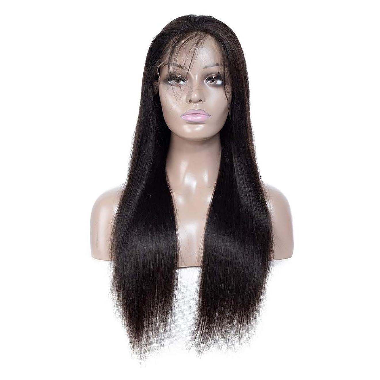 むちゃくちゃ保存構造的ZXF 本物の人間の髪の毛のかつらアフリカの黒と白のアメリカ人の本当の人間の髪の毛は、長い髪のフルハンド織りで染色することができます 美しい (Size : 12