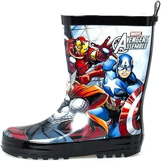 Kids Boys Marvel Avengers Rain Boots Spider-Man, Captain America, Iron Man, Hulk