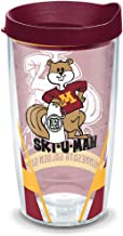 Tervis Insulated Tumbler with Wrap and Maroon Lid 16oz
