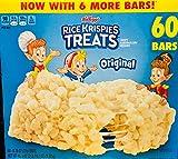Rice Krispies Treats, Original Marshmallow, 0.78oz Pack, 54 per Carton, Sold as 1 Carton