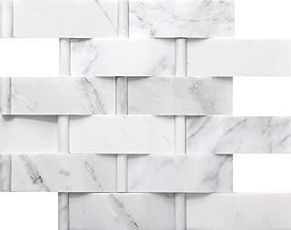 Emser Tile M05WINTFR1212MLT Winter Frost Lattice Mo/1212 Ceramic Tiles