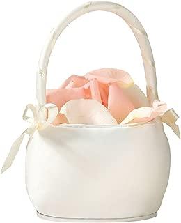 Flower Girl Basket Color: Ivory