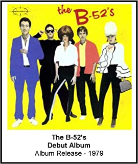 The B-52's 1979 Debut Album Cover 3