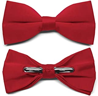 Best red clip on ties Reviews