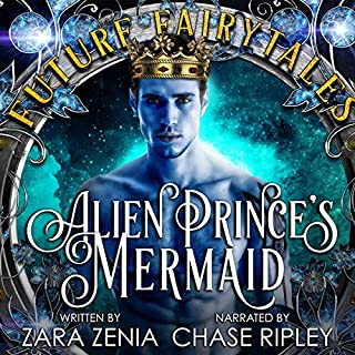 Alien Prince's Mermaid: A Sci-Fi Alien Fairy Tale Romance audiobook cover art
