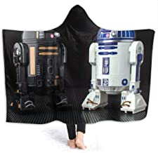Wosqfafo Smart R2-D2 Soft Hooded Blanket Throw Wrap Cloak Towel Three Size