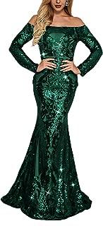 Best green sequin gown Reviews
