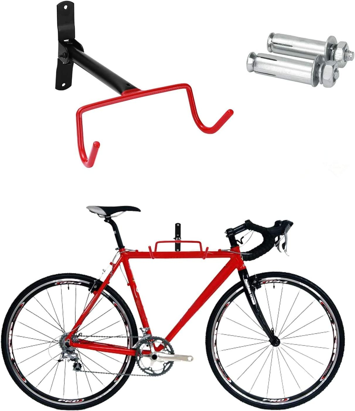 10 Pcs Bicycle Storage Hooks Wall Mount Bike Cycle Hanger Hanging Cycle Brackets