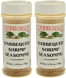 River Road Barbecued BBQ Shrimp Seasoning, 2.75 Ounce Shaker (Pack of 2)