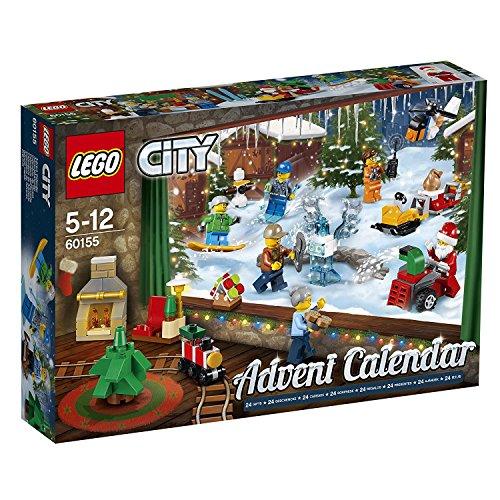 LEGO- City Calendario dell'Avvento, Multicolore, 60155